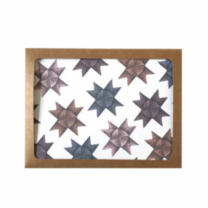 Boxed Card Set of Origami Star Pattern
