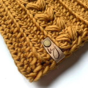 Wool Beanie (close up)